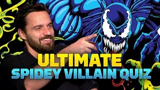 Spider-Man: Into the Spider-Verse Cast Takes Ultimate Villain Quiz