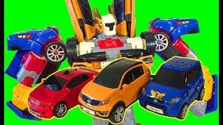 Тоботы Тритан Трансформеры Игрушки Мультики про Машинки для Детей Тобот X Тобот Y Тобот Z