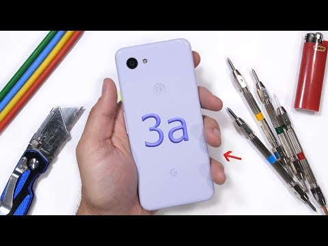 Google Pixel 3a Durability Test! - Is Plastic Weak?!