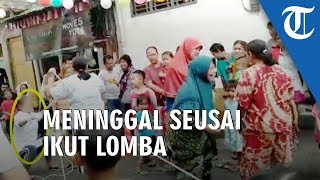 Video Detik-detik Seorang Wanita Meninggal seusai Rayakan Kemenangan Lomba Tarik Tambang