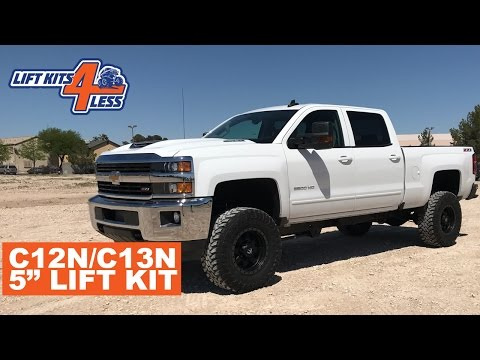 """Zone Offroad Nitro Shock Set for 01-10 Chevy GMC 2500HD w// 6/"""" of lift height"""