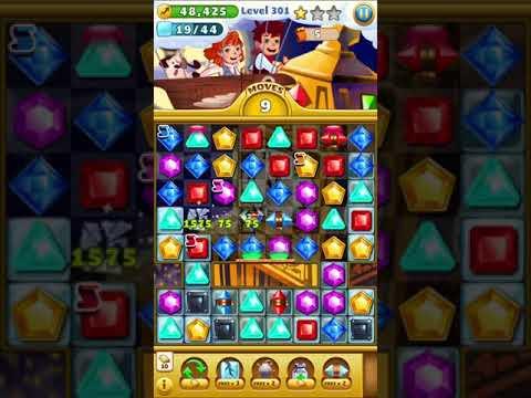Jewel Mania level 301 3 Stars