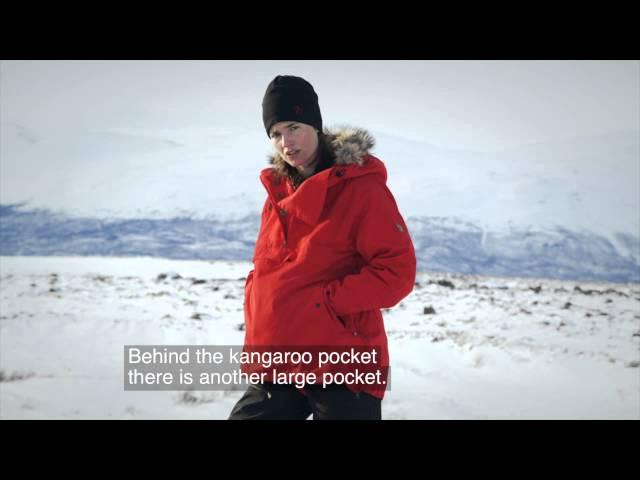 Fjellreven Iceland Anorak Dame