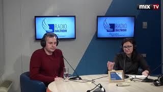 "Роман Пушкарев и Гузель Иванова в программе ""Утро на Балткоме"" #MIXTV"