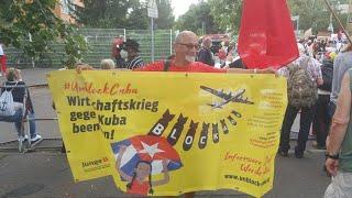 Solikundgebung für Kuba am 14.7.2021, Botschaft Kubas, Berlin