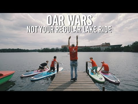 Oar Wars - Not your regular lake ride