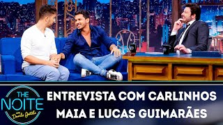 Entrevista com Carlinhos Maia e Lucas Guimarães   The Noite (20/03/19)