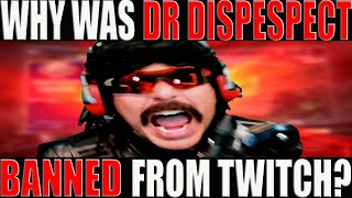 WHY DID DR DISRESPECT GET BANNED FROM TWITCH?? Has Gaming Me Too Gone Too Far??