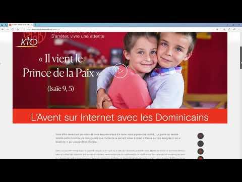 Le site web Avent dans la ville