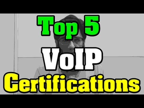 Top 5 VoIP Certifications - Voice over IP Certifications - YouTube