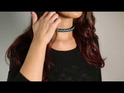 Choker/Wrap Bracelet - Teal