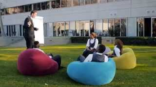 Why Bean Bag Chairs are Good for Productive Meetings - Video