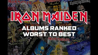 RANKED : Iron Maiden studio albums