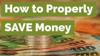 How To Properly SAVE Money | Tamang Paraan Ng Pag Iipon