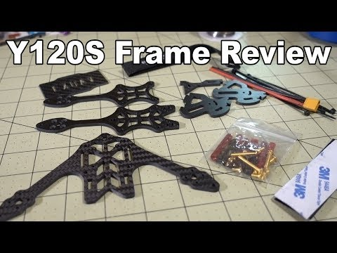 EXUAV 120S Y4 Frame Review