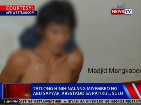 NTVL: 3 hinihinalang miyembro ng Abu Sayyaf, arestado sa Patikul, Sulu