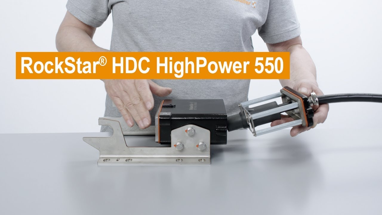 Handling-Video RockStar® HDC HighPower 550