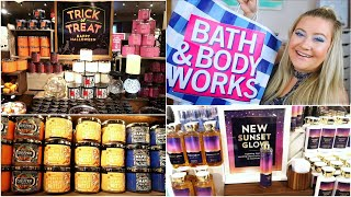 BATH & BODY WORKS SHOP WITH ME - HALLOWEEN COLLECTION + FALL PREVIEW