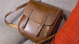 Making The Dieselpunk Leather Messenger Bag