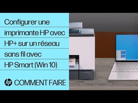 Configurer une imprimante HP avec HP+ sur un réseau sans fil avec HP Smart (Win 10) | HP Smart | HP