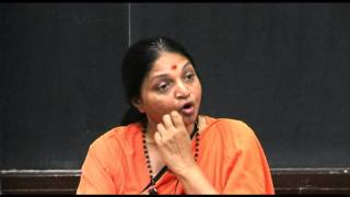 Swamini Vimalananda At IIT Kanpur On 27th Sept., 2014: Who Am I?, Who Is God? And What Is The Mind?