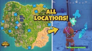 """Search Jigsaw Puzzle Pieces in Basements"" ALL LOCATIONS - Fortnite Battle Royale! JIGSAW PIECES"