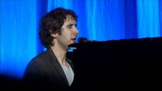 Josh Groban Amsterdam 2 0ctober 2011 - Higher Window (intro-Lovelife/I had sex) HD