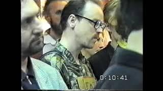 Икона Царя-Мученика в СПб в 1999 г.