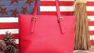 Concealed Carrie Smooth Leather Totes
