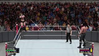 Playing WWE 2K18 WITH BRO           (Rameez_YT)