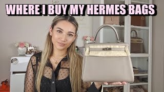 WHERE I BUY MY HERMES BAGS | CONSIGNMENT STORES, RESELLERS, JAPAN MARKET