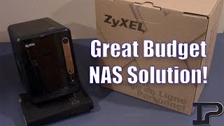 Fantastic Low Budget NAS Solution! (ZyXEL 2 Bay NAS Review)