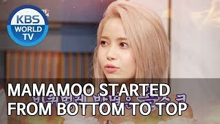 MAMAMOO started from the bottom to the top [Happy Together/2019.11.28]