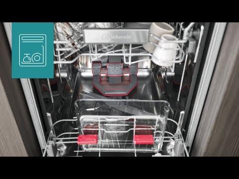 Schmale 45 cm Geschirrspüler vollintegriert | Bauknecht