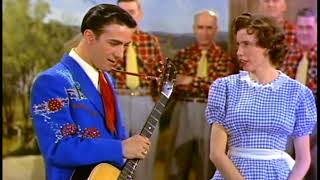 JUNE CARTER & FARON YOUNG - 1956 - Comedy Routine