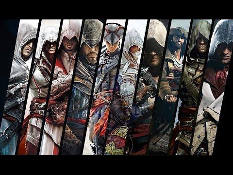 Toutes les cinématiques - Assassin's Creed (All trailer) [FR] 1080p