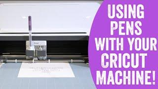 Addressing Envelopes: Writing with Cricut Pens Using Your Cricut Maker or Explore Machine