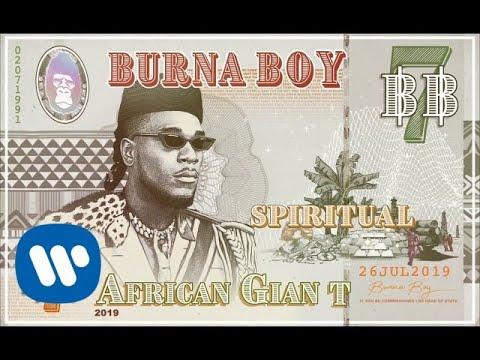 Burna Boy - Spiritual (Official Audio)