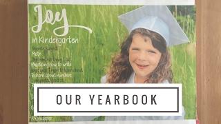 Homeschool Yearbook {Kindergarten}
