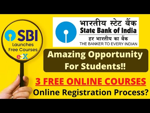 SBI Launches 3 Free Online Courses | SBI Partners With EDX ...