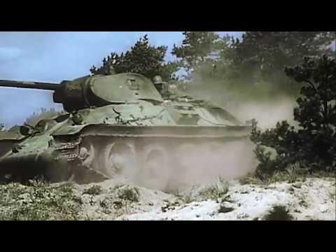 Вторая Мировая в цвете. Гитлер атакует восток. 4 Часть --- Hitler attacks the East