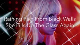 CHROMATICS BLACK WALLS (Lyric Video)