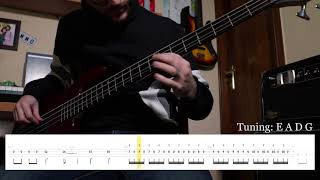 Metallica   The Call Of Ktulu (Bass Tab) (Play Along Tabs In Video)