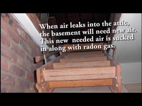 Free easy way to lower radon gas