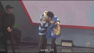[fancam] 19.05.04 슈윗타임 엑소 멤버들이 민석이에게