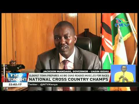 Eldoret town prepares for the National Cross Country championship