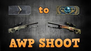 Silver 1 to Global Elite ★ AWP Shoot
