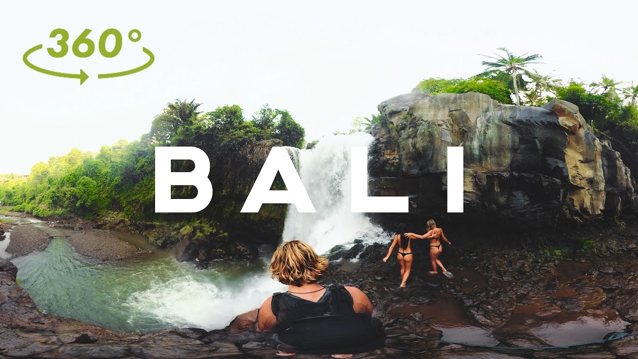 Bali In 360-Degree 4K Looks Better Than It Ever Has