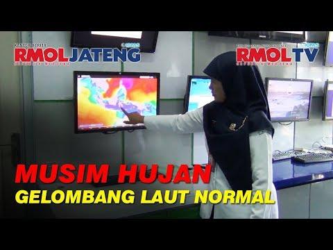 Masuk Musim Penghujan, Gelombang Laut Jawa Relatif Normal