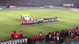 Khoảnh Khắc Toàn Bộ Sân Hàng Đẫy Hát Quốc Ca Việt Nam   AFF Cup 2018